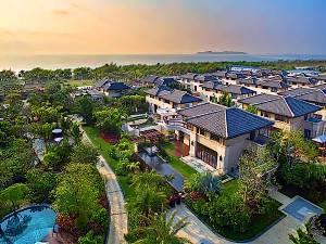 三亚海棠湾路森海岸泳池别墅图片