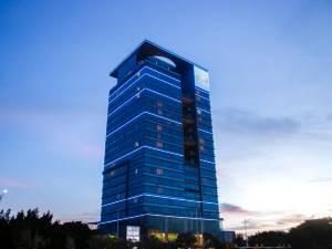 广州南沙珠江三角洲世贸中心大厦图片