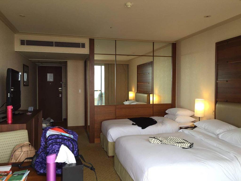 携程上订的济州岛4天自由行 一晚凯悦酒店,在中文区.
