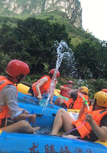 #清远龙腾峡走开#炎热的夏天请你漂流攻略河姆渡图片