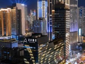深圳罗湖地王亚朵酒店图片