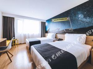 上海青浦体育场亚朵轻居酒店+东方绿舟门票【惬意度周末】