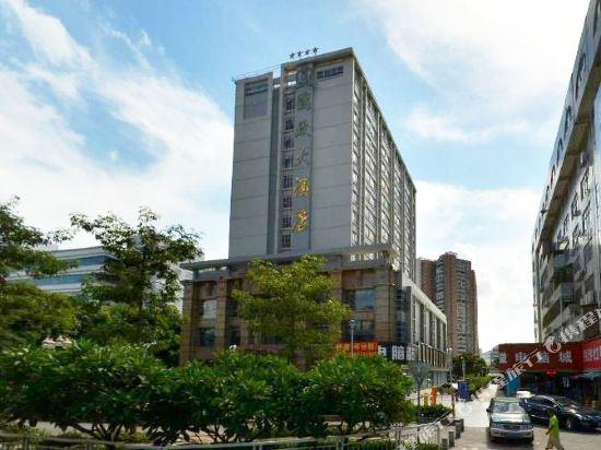 珠海国政大酒店位于香洲区明珠南路繁华商业中心地带,毗邻城轨明珠站