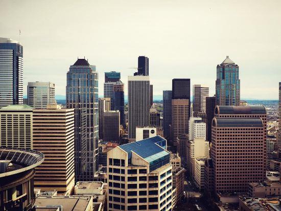 整体算是西雅图非常不错的地标性酒店了,如果想在房间里看风景的