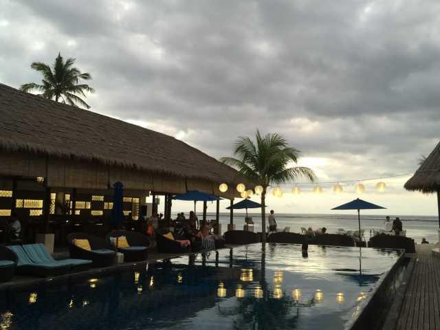 巴厘岛蓝梦岛沙滩俱乐部别墅度假村(lembongan beach
