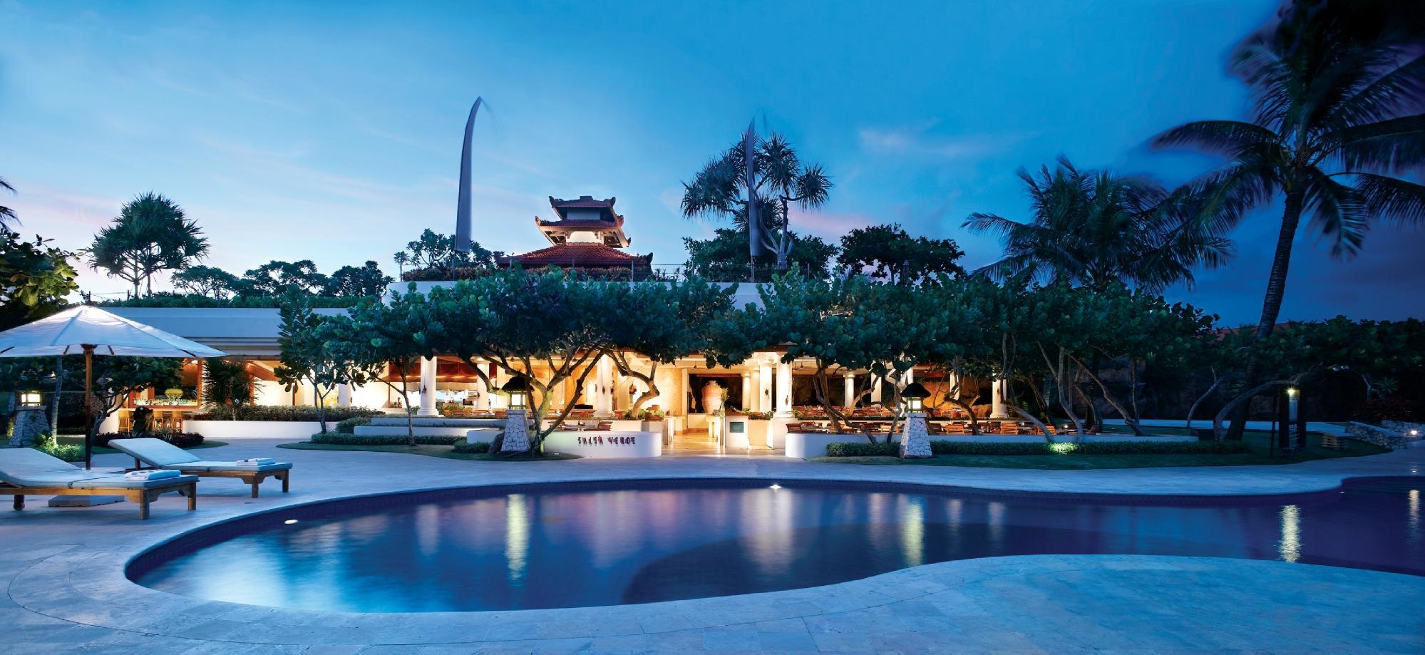巴厘岛穆丽雅度假村(mulia resort nusa dua bali) 餐食包含:酒店