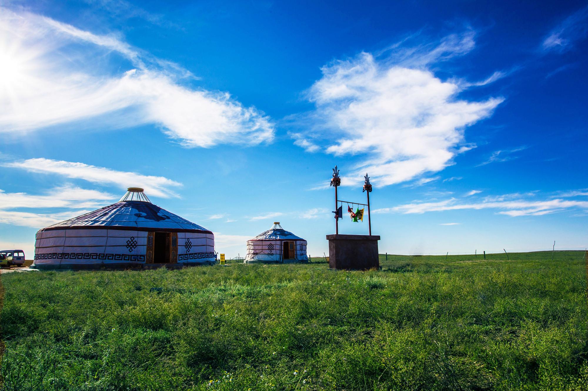 内蒙古鄂尔多斯+鄂尔多斯草原旅游区+响沙湾5日4晚自由行(5钻)·【鄂