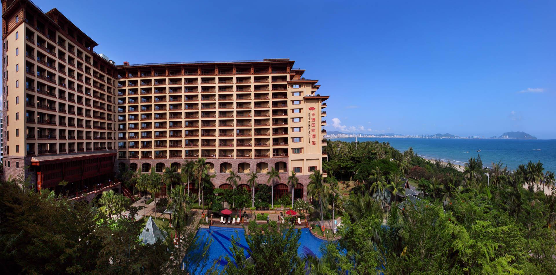 时尚的设计理念,是一家服务设施人性化的海景度假酒店.图片
