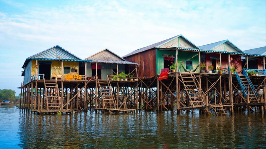 柬埔寨暹粒 吴哥窟5日4晚跟团游·春节纯玩·住四星酒店 乘坐当地特色