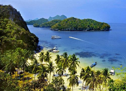 自然探索·苏梅岛安通国家海洋公园游船休闲之旅