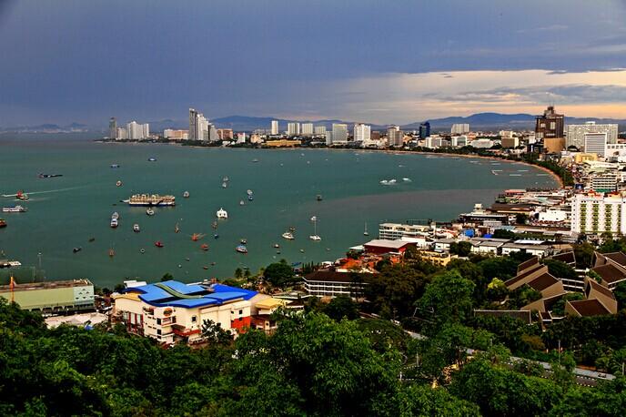泰国风情园+芭塔雅观景台