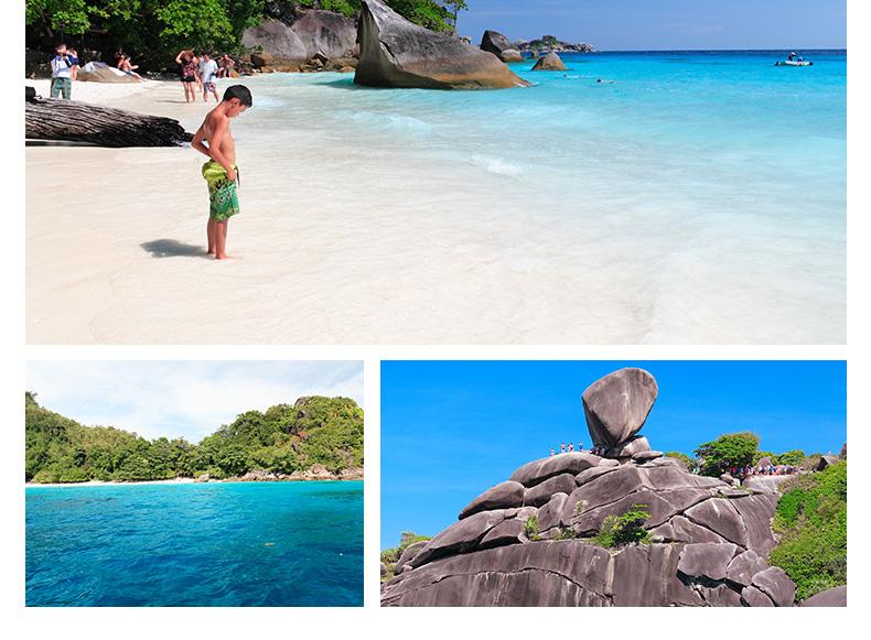 泰国普吉岛+斯米兰群岛6日4晚半自助游·无购物+蜜月