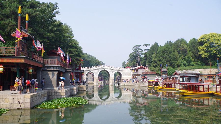 颐和园的高清平面图