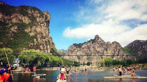 河北野三坡2日1晚跟团游·5a景区百里峡 仙西山&玻璃栈道&雨林谷&水洞