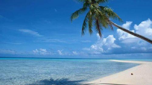 三亚海岛沙滩