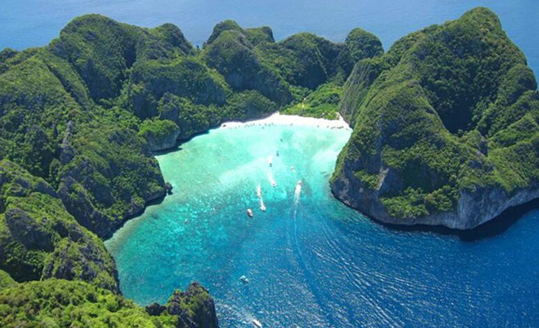 泰国普吉岛 皮皮岛 小皮皮岛 帝王岛 攀瓦海滩 甲米6日5晚跟团游