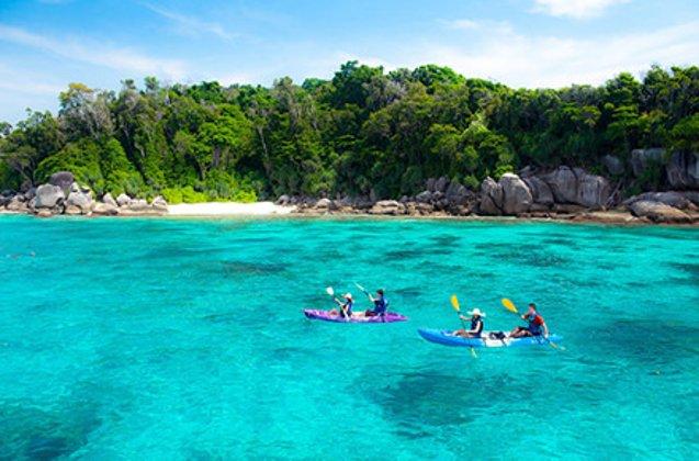 摄影之旅·泰国普吉岛 斯米兰群岛6日4晚跟团游·直飞
