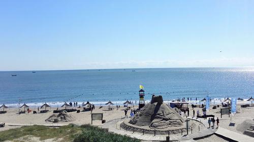 沙雕海洋乐园 昌黎国际滑沙中心2日1晚跟团游·五一