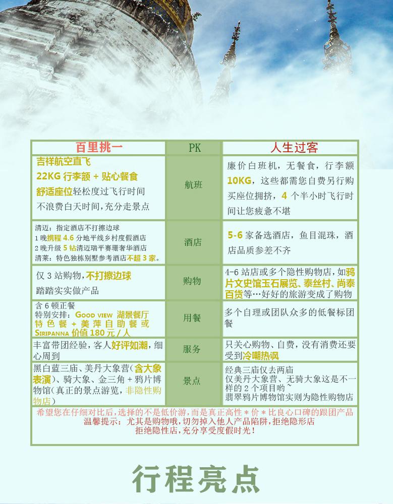 清迈泰国+黄岛6日4晚跟团游(4钻)『出租价★清莱尝鲜别墅图片
