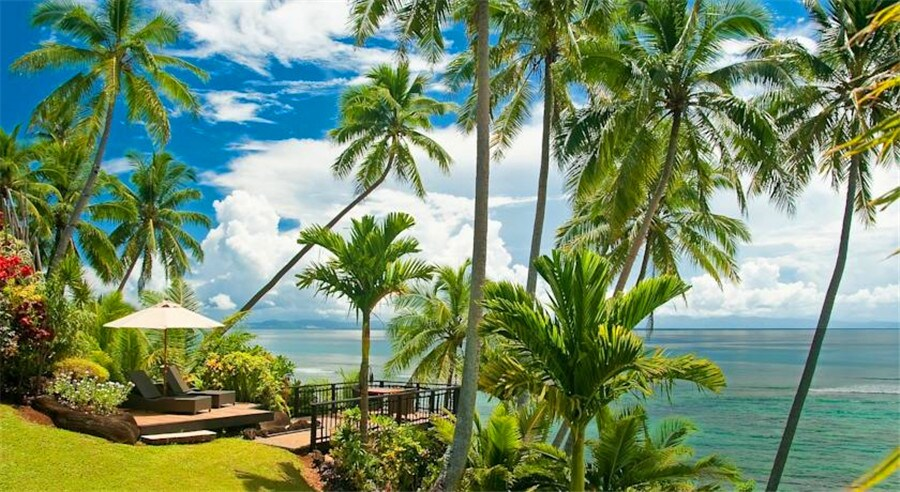 跟团游>斐济8日6晚半自助游·外岛塔妙妮岛棕榈树 主岛索菲特·赠送