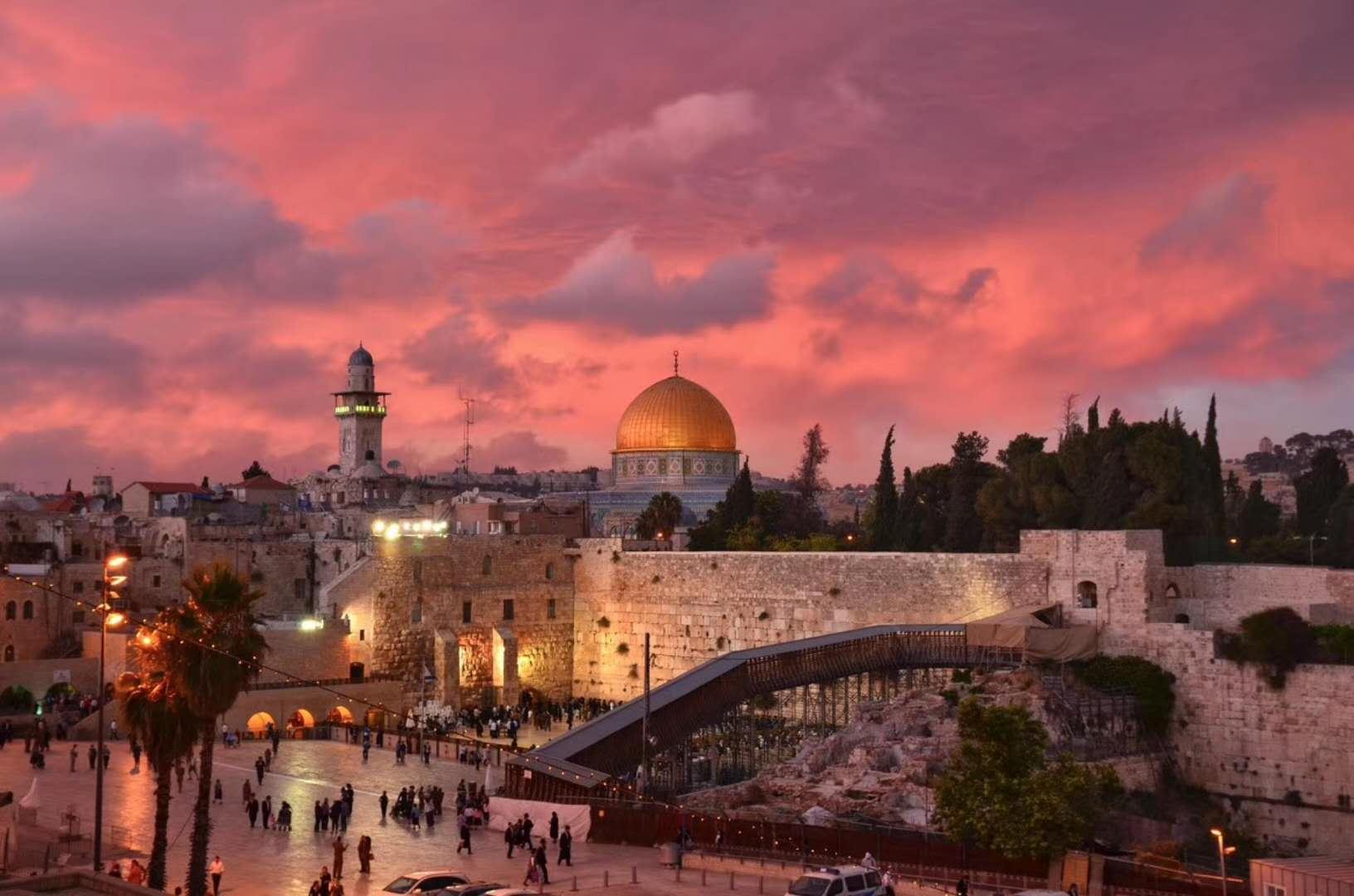 以色列耶路撒冷区 海法区 伯利恒省 约旦安曼省 佩特拉 死海 瓦迪拉姆
