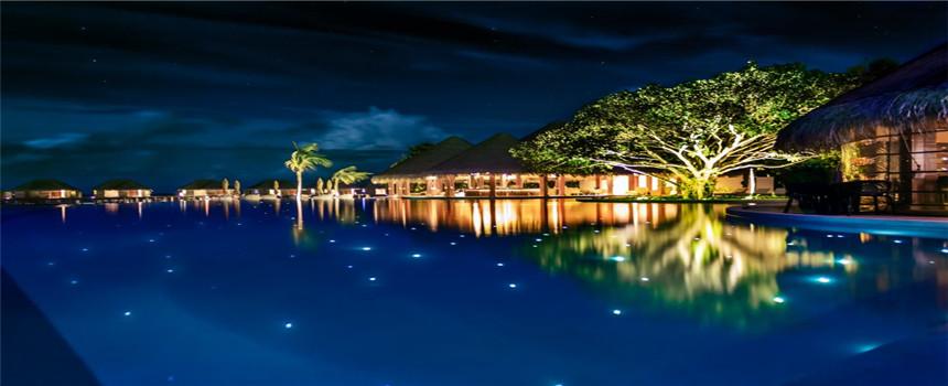 马尔代夫都喜天阙岛6日4晚自由行·美佳直飞 2沙滩别墅 2泳池水上别墅