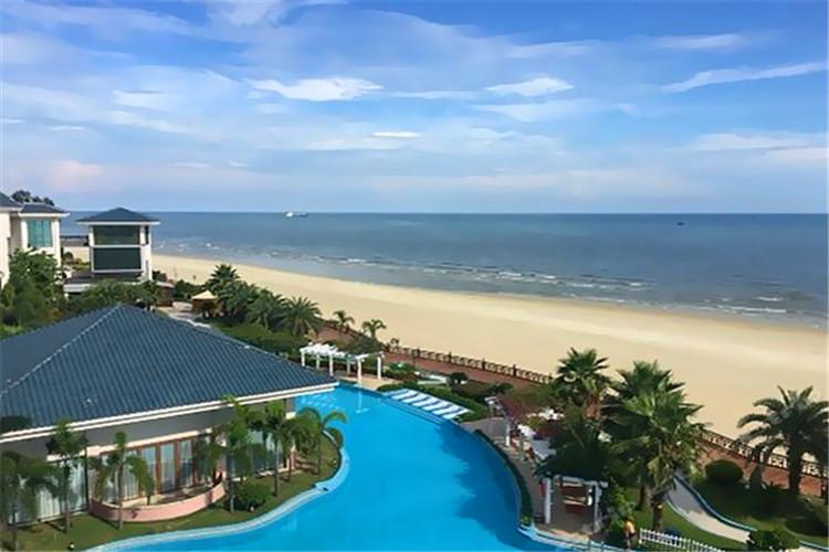 标海景酒店 岛上安排海景房 涠洲岛一日独立用车游-临海而居-出门见海