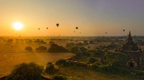 缅甸5日跟团游·一块旅游处女地,旖旎的自然风光