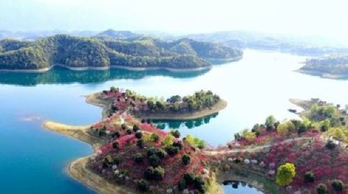 庐山西海—— 江西的千岛湖,花源谷是庐山西海的核心
