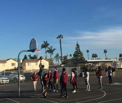 中学高中生加州美国插班游学14古诗教必天人背高中版图片
