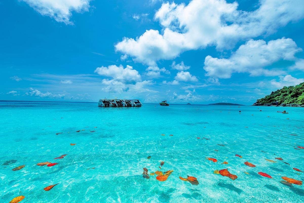 摄影之旅·斯米兰群岛 普吉岛7日5晚跟团游·东航别墅