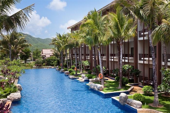 三亚亚龙湾铂尔曼别墅度假酒店1晚 亚龙湾热带天堂森林公园门票