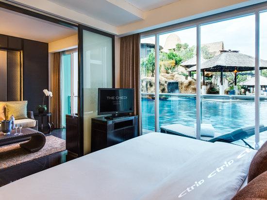 酒店每一间客房可感受到巴厘岛伊娜雅普瑞酒店的独有风      格.