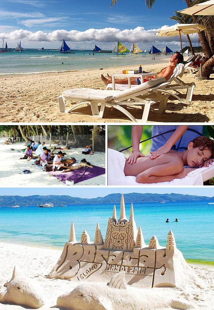 菲律宾长滩岛5日4晚半自助游·杜鹃花酒店或高尔夫