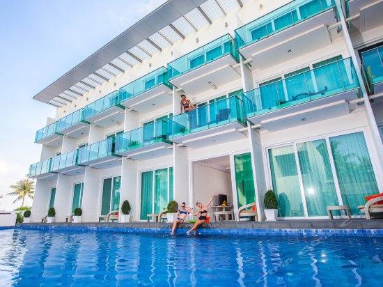 蘇梅島kc海灘俱樂部和泳池別墅酒店客房和別墅設有42英寸平面