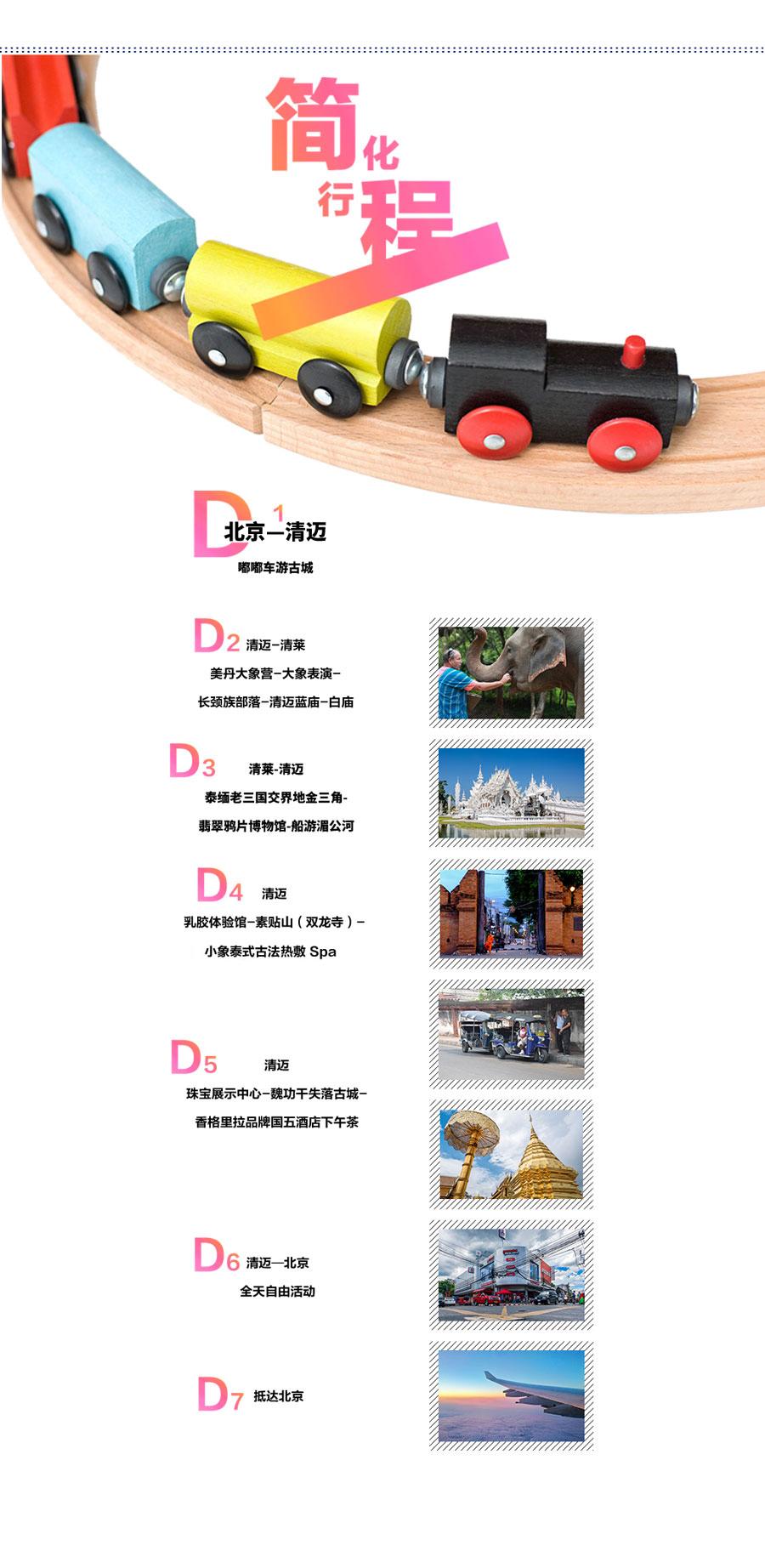 清迈御河+泰国6日5晚半自助游(4钻)清莱蓝庙别墅清迈融创图片