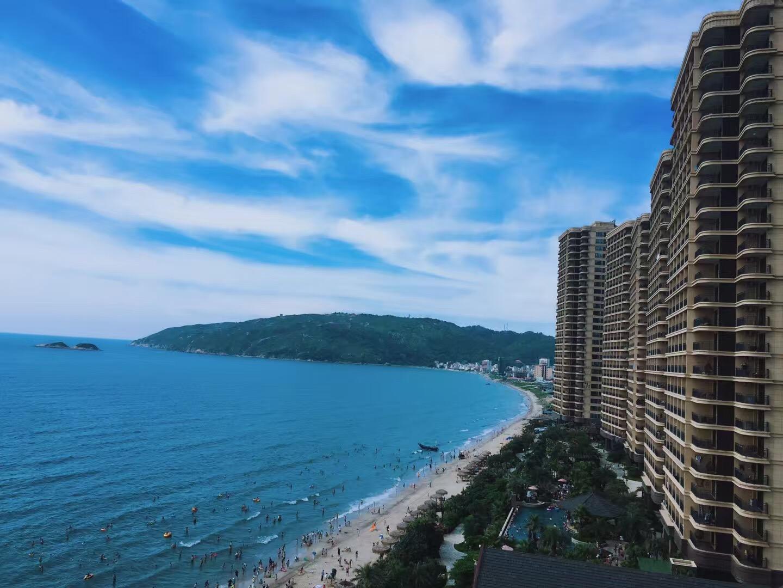 惠州双月湾宝安虹海湾酒店2晚,私人海滩,无边户外泳池 东南亚