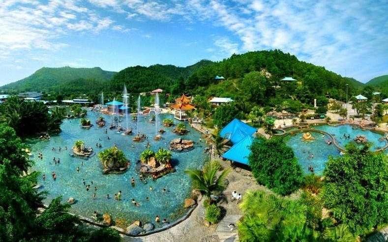 《船游恩平青澜湖》    ★ 游览:国家森林公园-aaaa级风景区圭峰山