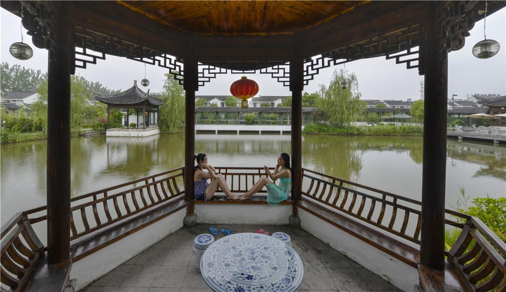 节日庆典·洪泽2天1晚骑游蒋坝千年古镇,领略水利风景