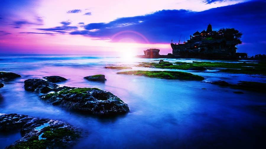 南湾海滩及乘玻璃底船出海游海龟岛