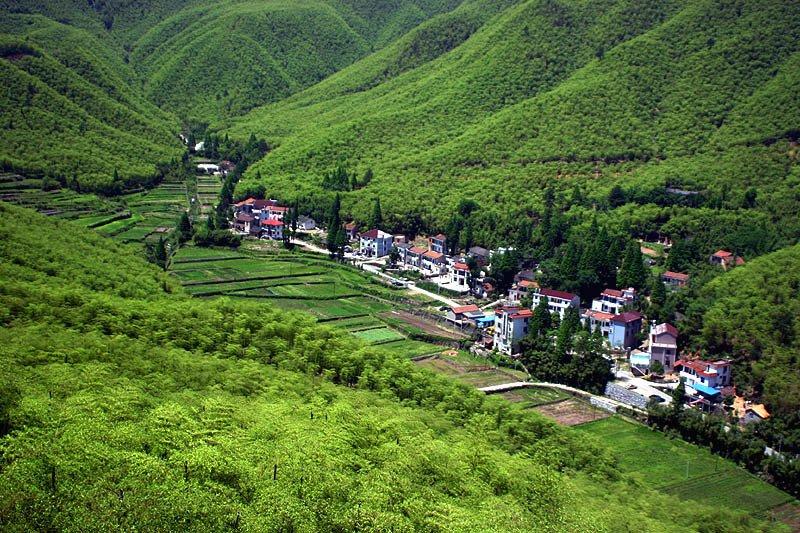 中国大竹海景区以浩瀚的大毛竹景观为主体,以神奇的
