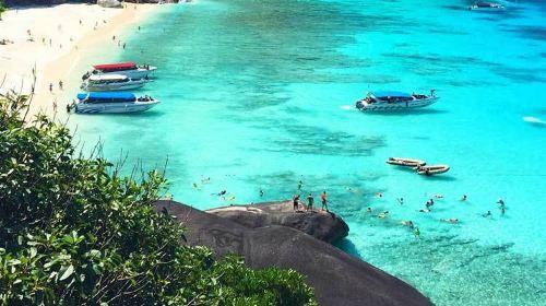 泰国曼谷 芭提雅 沙美岛 普吉岛9日8晚半自助游·联运