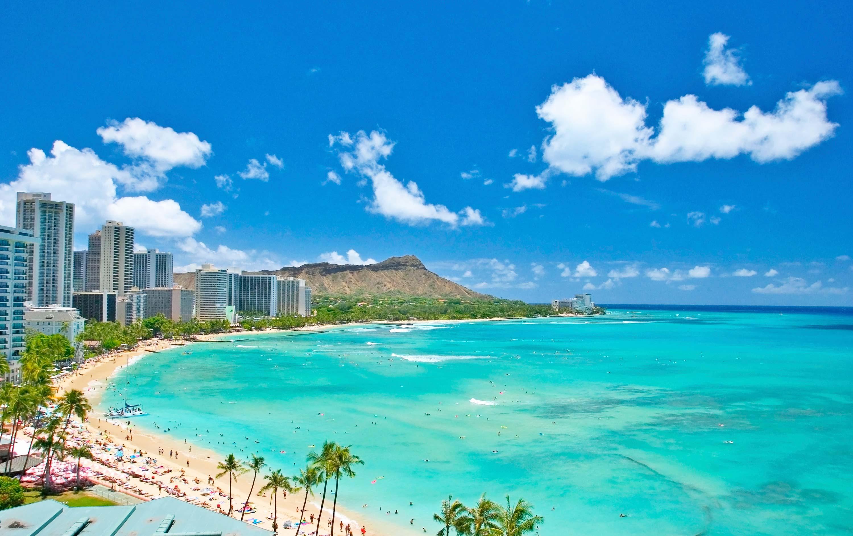 美国夏威夷欧胡岛9日7晚私家团(4钻)·直飞全国联运 双岛豪游 2天
