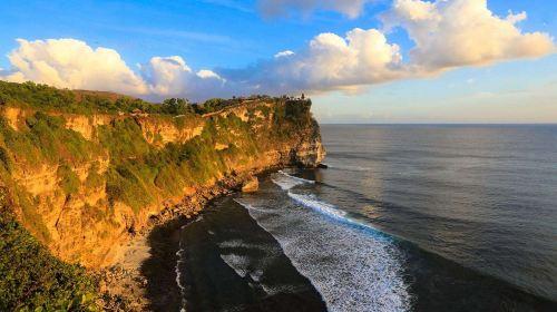 印度尼西亚巴厘岛6日半自助·蜜月湾-玻璃底船-海龟岛-乌鲁瓦图断崖