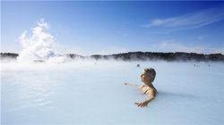 蓝湖地热温泉