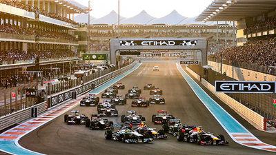 阿布扎比F1收官赛