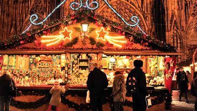 欧洲最古老的圣诞集市