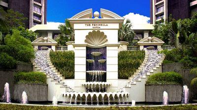 马尼拉半岛酒店喷泉