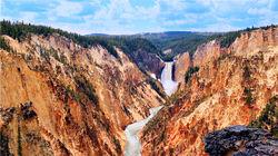 如同油画般的黄石峡谷