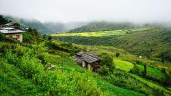 不丹乡间美景